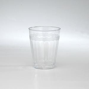 Resposables Heavy Weight Plastic Tumblers  - Clear