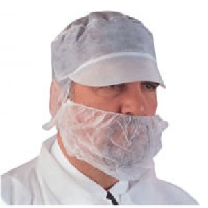 Premier White Beard Masks- Elasticated