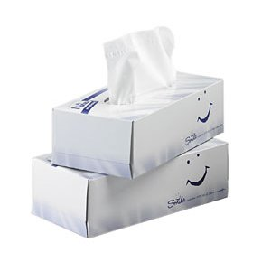 Lotus Professional Facial Tissues White 2ply