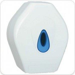 Evolution White Plastic Large Jumbo Toilet Dispenser