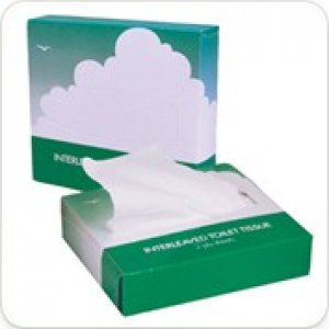 Papercraft Flat Pack Tissues Boxed 2ply