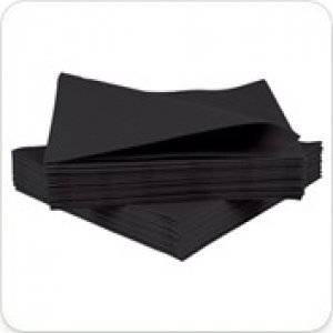 Airlaid Napkins - Black