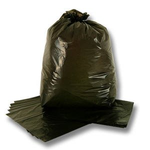 Heavy Duty Black Bin Liners
