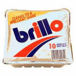 Brillo Soap Filled Pads