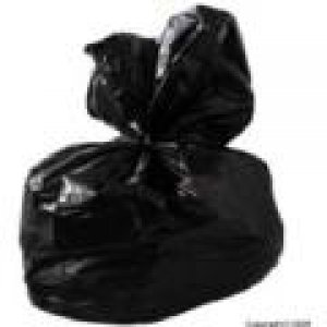 Black Polythene Compactor Sacks