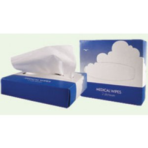 Papercraft Medical Wipes White 2ply