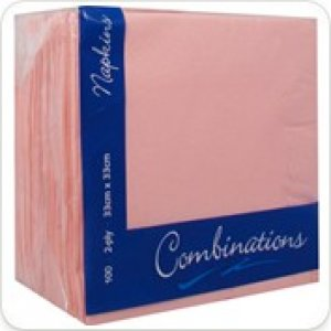 Combinations Luncheon Napkins - Rose Pink