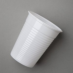 Plastic White Tall Cups